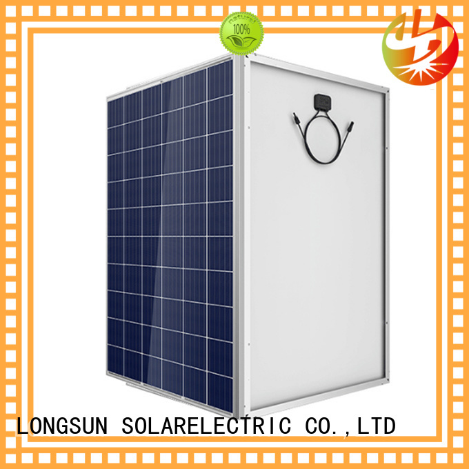 Longsun reliable high capacity solar panels wholesale for traffic field