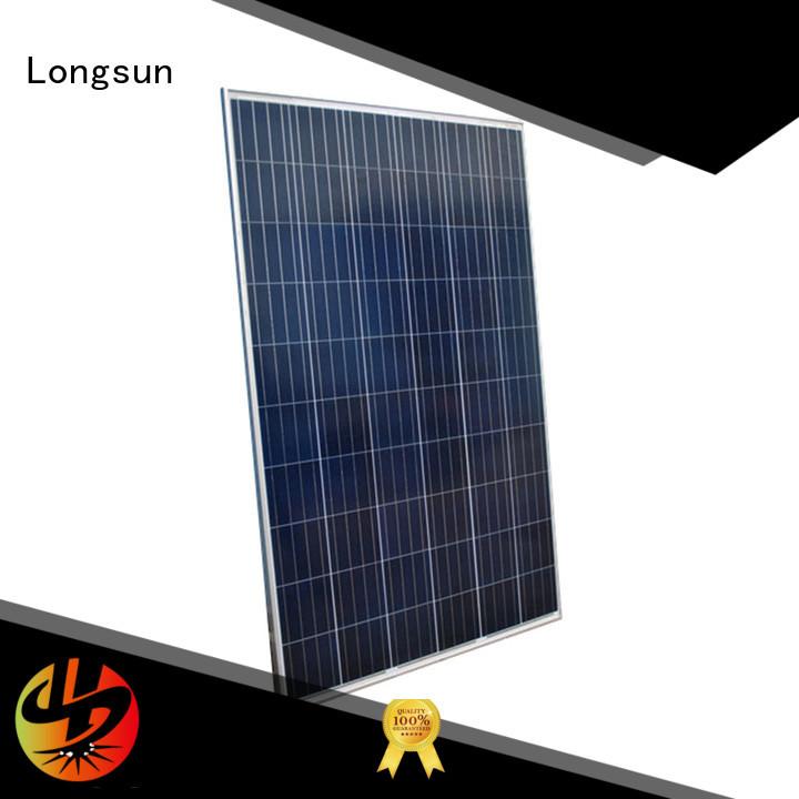 Longsun 330w highest watt solar panel supplier for photovoltaic power station