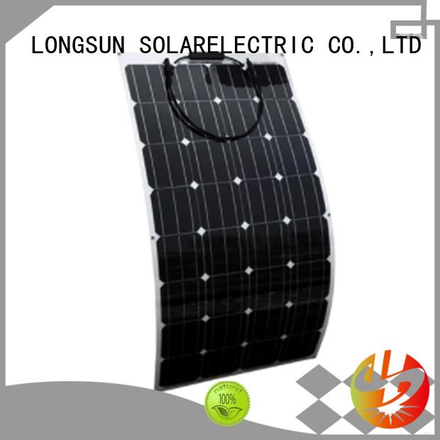 Longsun panel panel solar flexible wholesale for yachts