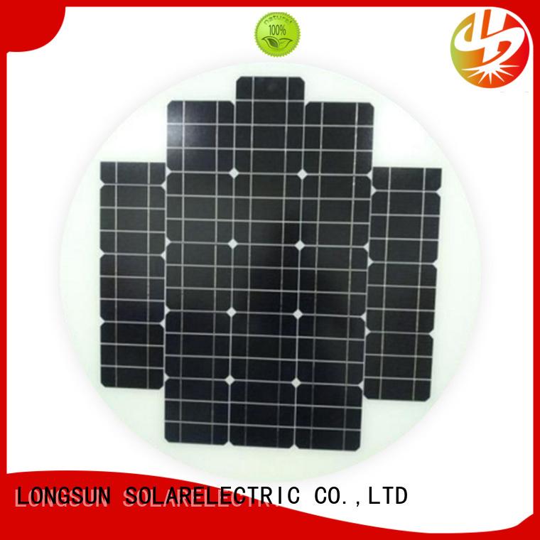 Longsun good to use solar power panels to decorative for Solar lights