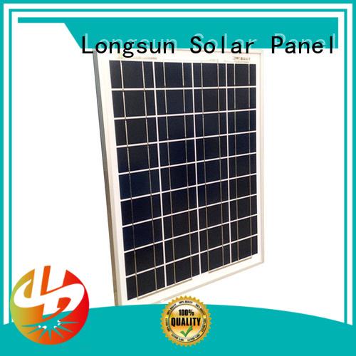 Longsun high-quality poly solar panel supplier for communications