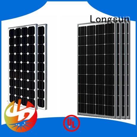 Longsun highout highest watt solar panel customized for traffic field
