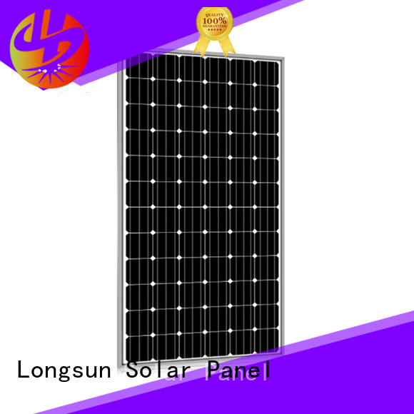 Longsun 285w solar panel manufacturers series for powerless area