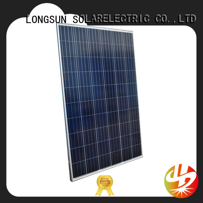 Longsun mono high output solar panel factory price for petroleum