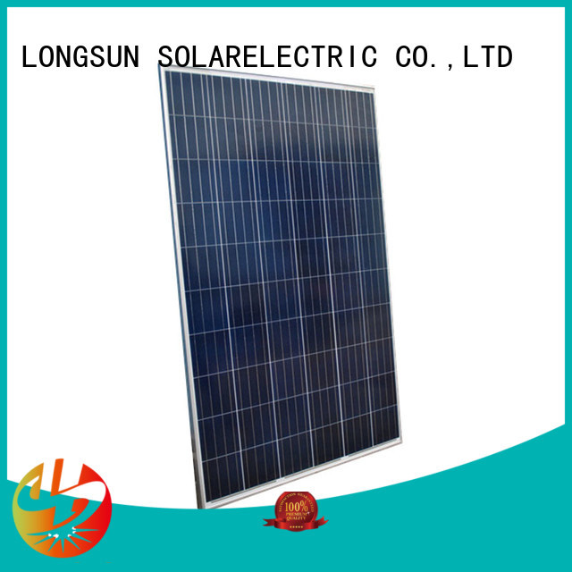 widely used best solar panel company 280w overseas market for lamp power supply