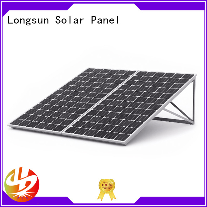Longsun highout sunpower solar panels wholesale for meteorological