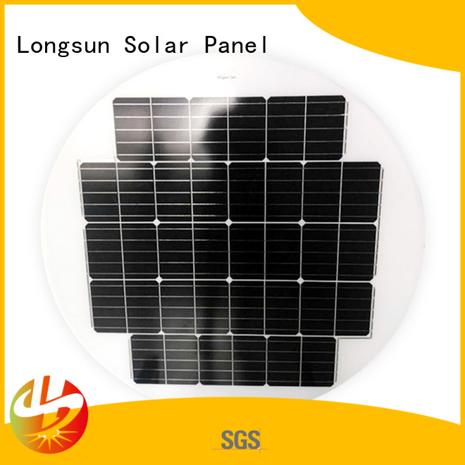 solid round solar panels 40w dropshipping for other Solar applications