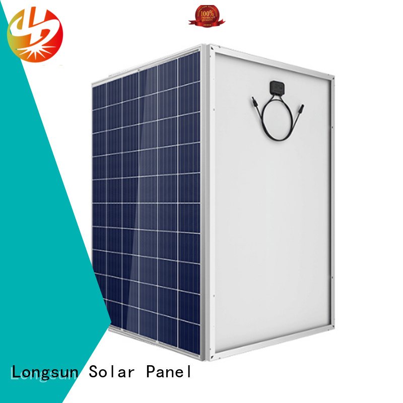 Longsun reliable highest watt solar panel wholesale for meteorological
