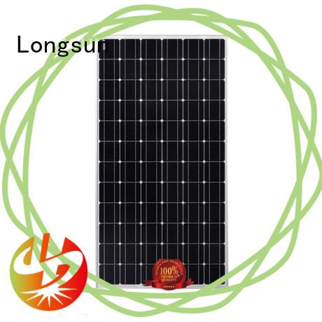 Longsun professional high capacity solar panels vendor for lamp power supply