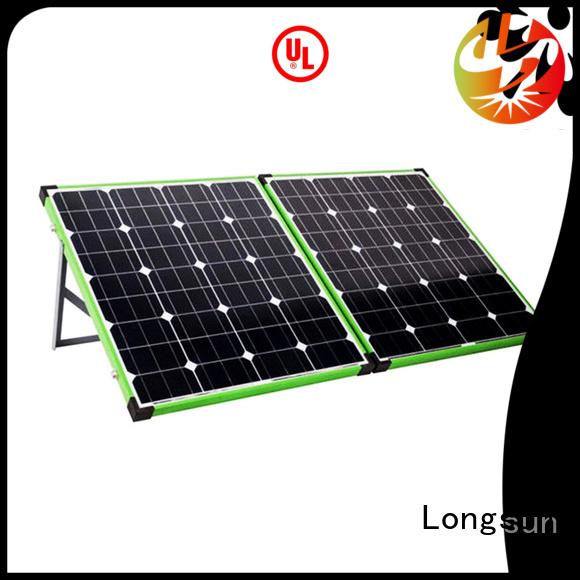 Longsun experience solar panels producer for camping