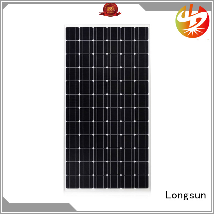 Longsun waterproof mono solar panel directly sale for space