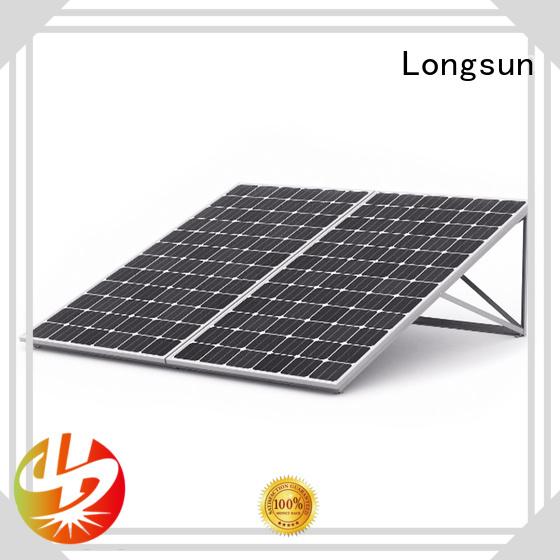 Longsun reliable high output solar panel overseas market for photovoltaic power station
