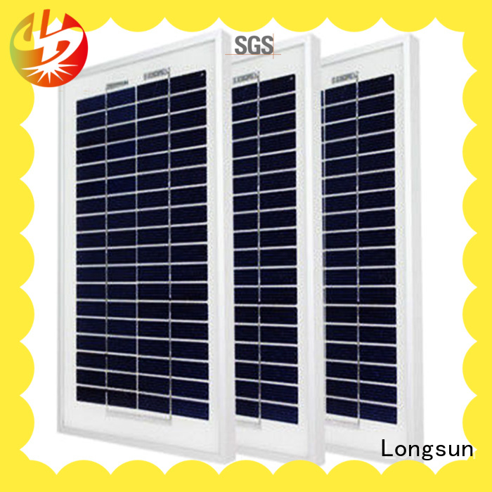 Longsun polycrystallinesolar polycrystalline solar module supplier for communications