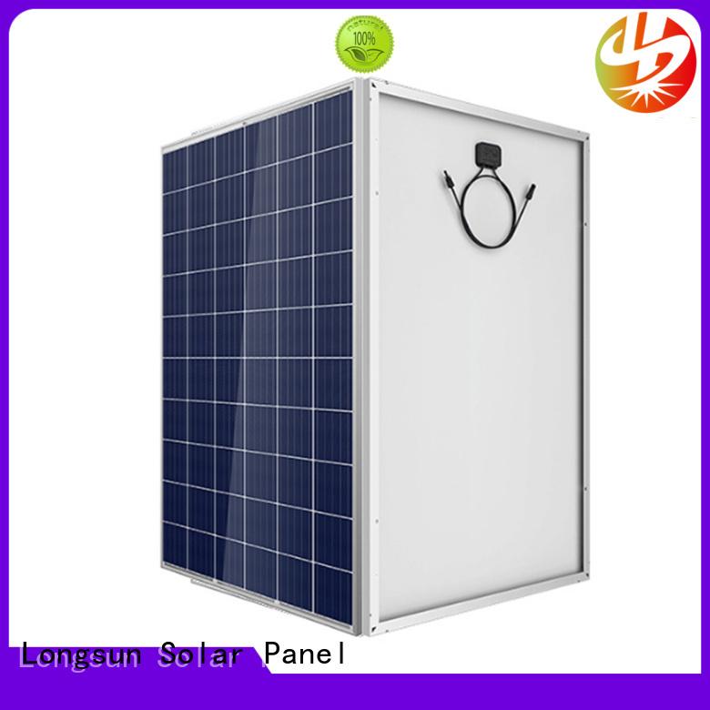Longsun panel highest watt solar panel marketing for meteorological