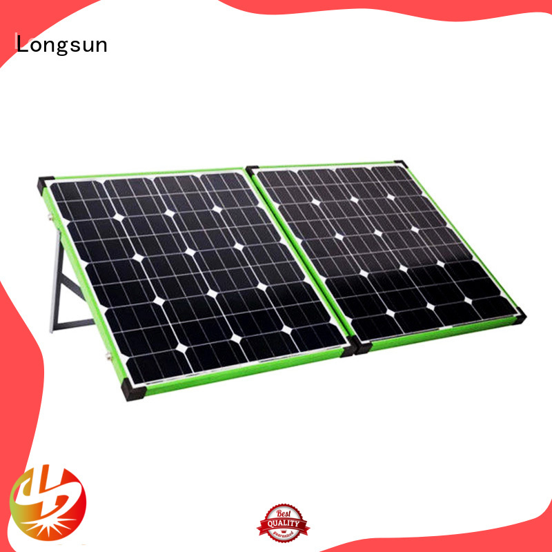 Longsun eco-friendly foldable solar panel directly sale for 4WD