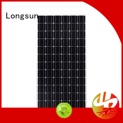 Longsun sunpower solar panels supplier for space