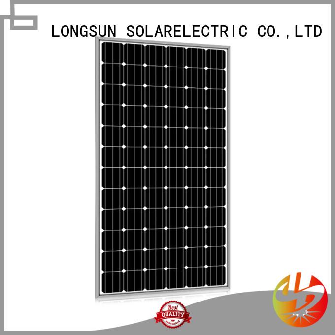 Longsun 320w solar panel manufacturers for powerless area