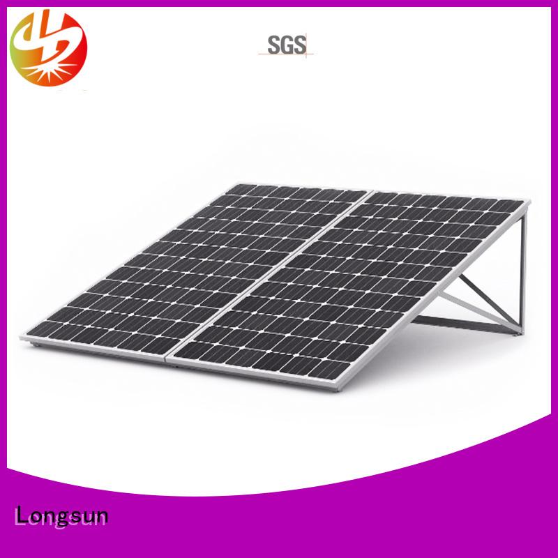 Longsun mono high power solar panels series for lamp power supply