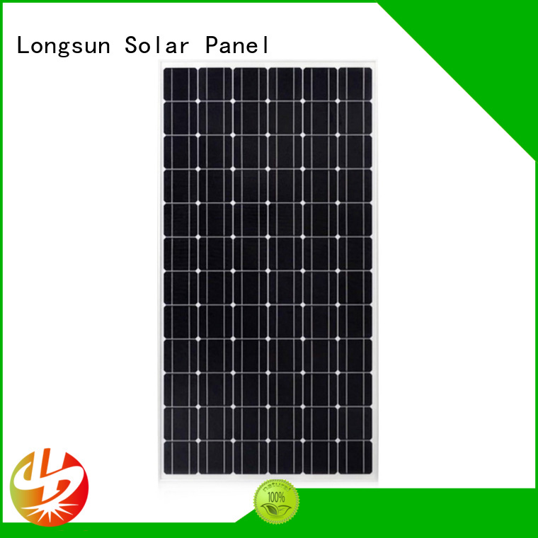 Longsun panel monocrystalline pv module factory price for ground facilities