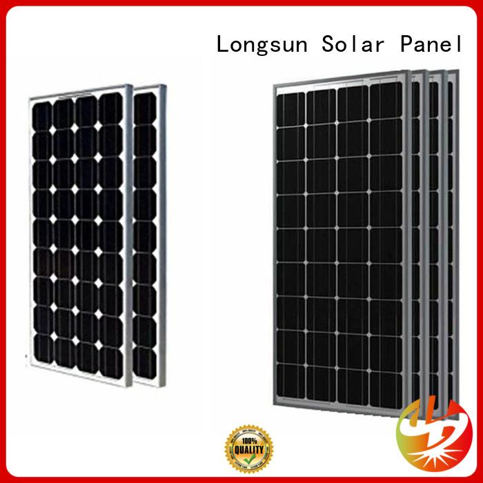 Longsun monocrystalline highest watt solar panel manufacturer for marine