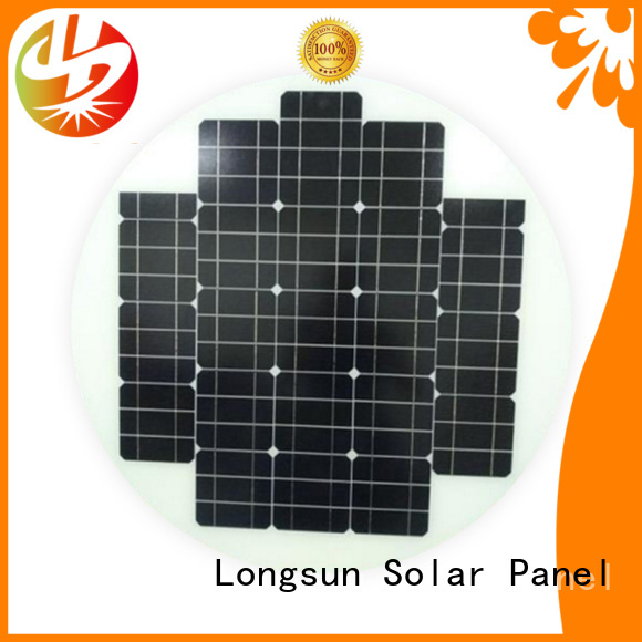 Longsun round new solar panels customized for Solar lights