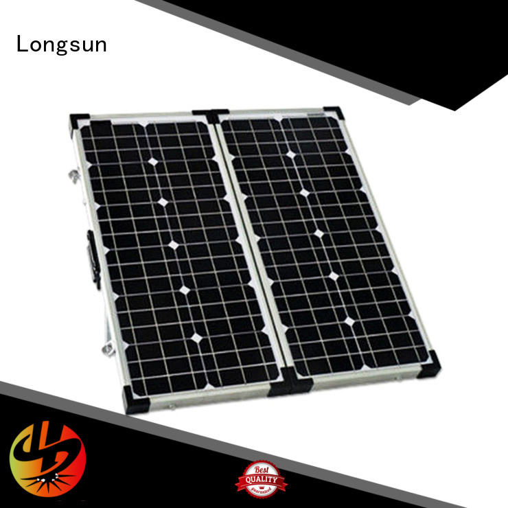 Longsun high-end folding solar panels directly sale for camping