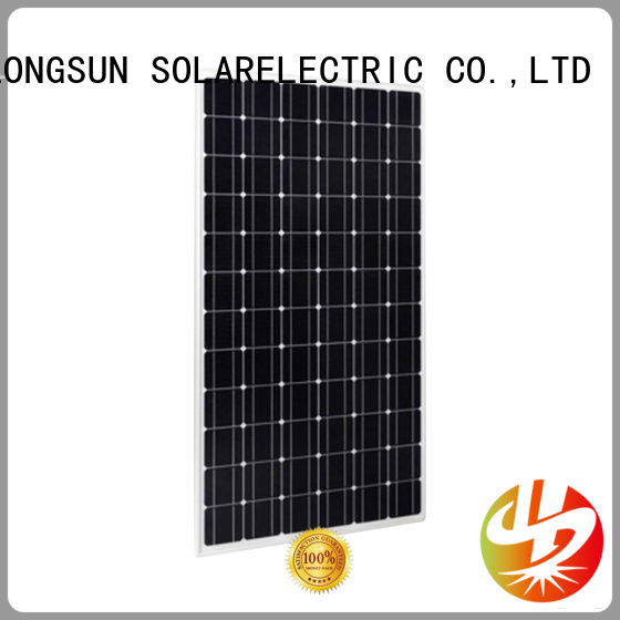Longsun 330w high output solar panel overseas market for powerless area