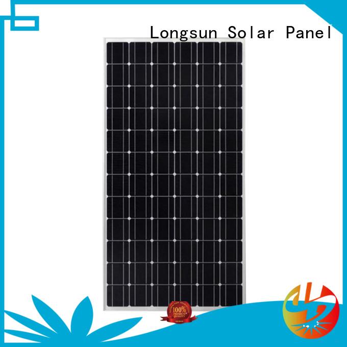 285w high quality solar panel factory price for lamp power supply Longsun
