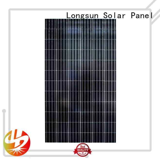 Longsun long-life polycrystalline solar panel supplier for communications