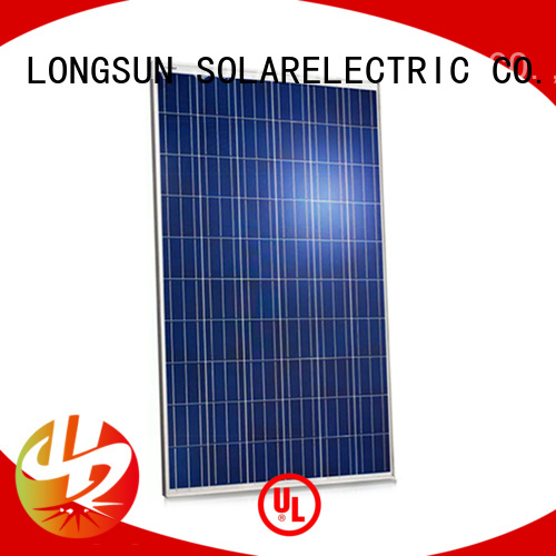 Longsun widely used highest rated solar panels supplier for traffic field