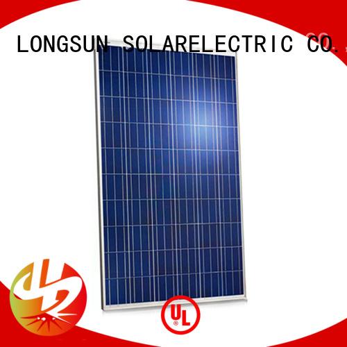 Longsun 285w high quality solar panel marketing for meteorological
