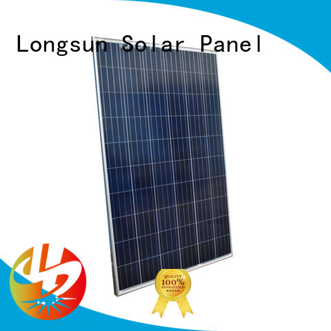 Longsun reliable powerful solar panels customized for photovoltaic power station
