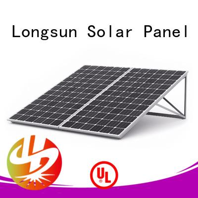 Longsun long-lasting solar panel manufacturers wholesale for powerless area