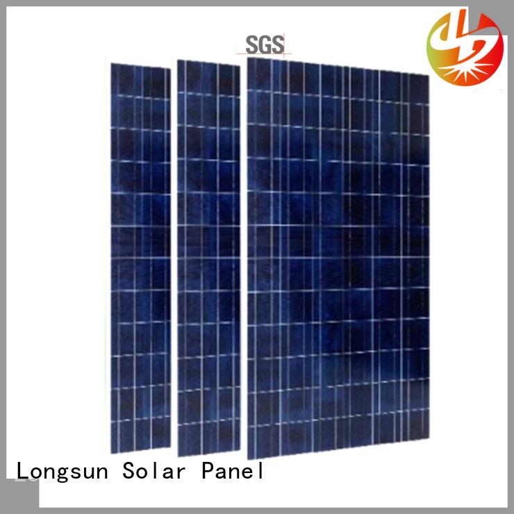 Longsun competitive price high capacity solar panels marketing for marine