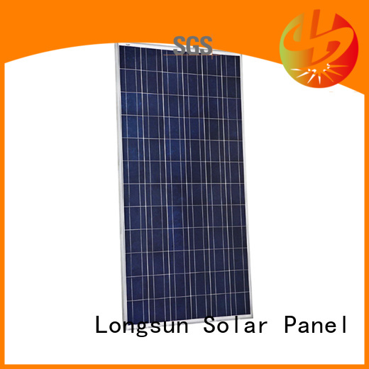 Longsun highout high capacity solar panels series for meteorological