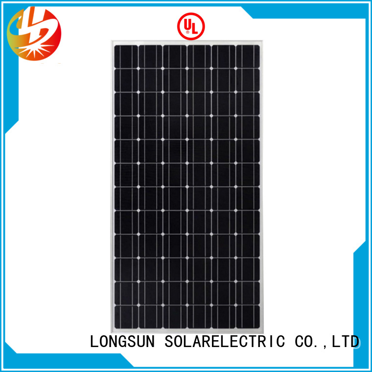 Longsun 340w high tech solar panels factory price for traffic field
