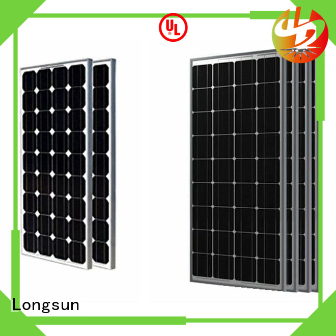 Longsun 285w high output solar panel series for petroleum