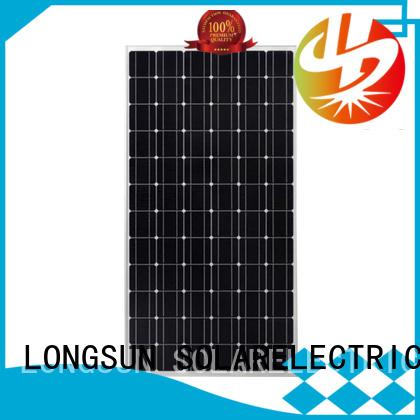Longsun 270w highest watt solar panel supplier for powerless area