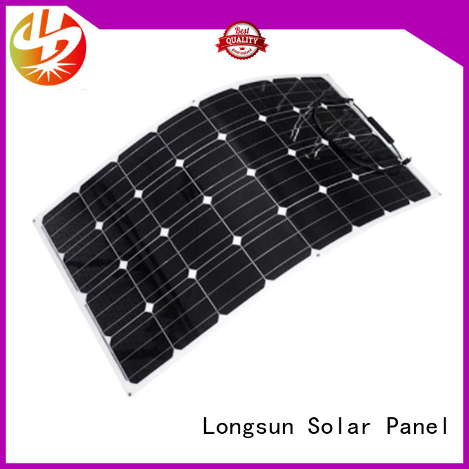 high-end panel solar flexible panel overseas market for yachts