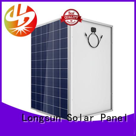 Longsun panels highest rated solar panels wholesale for petroleum