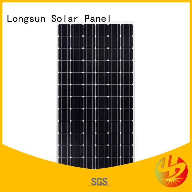 Longsun sunpower solar panels directly sale for ground facilities