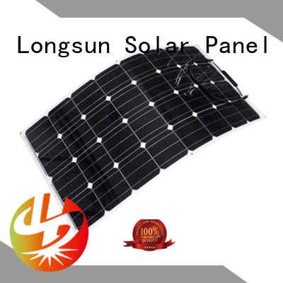 Longsun widely used advanced solar panels factory price for yachts