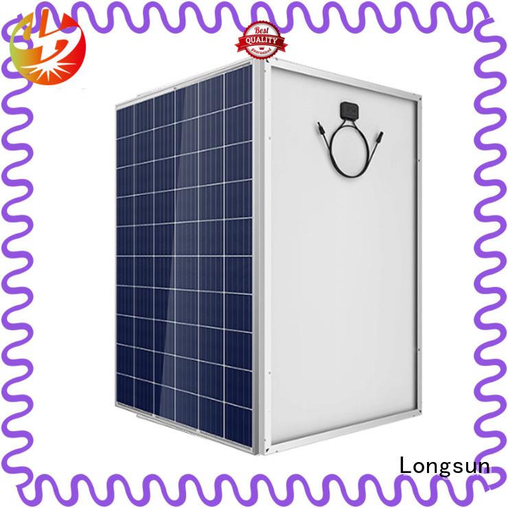 Longsun online high power solar panels customized for communication field