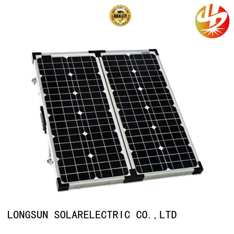 Longsun waterproof solar panels producer for caravaning