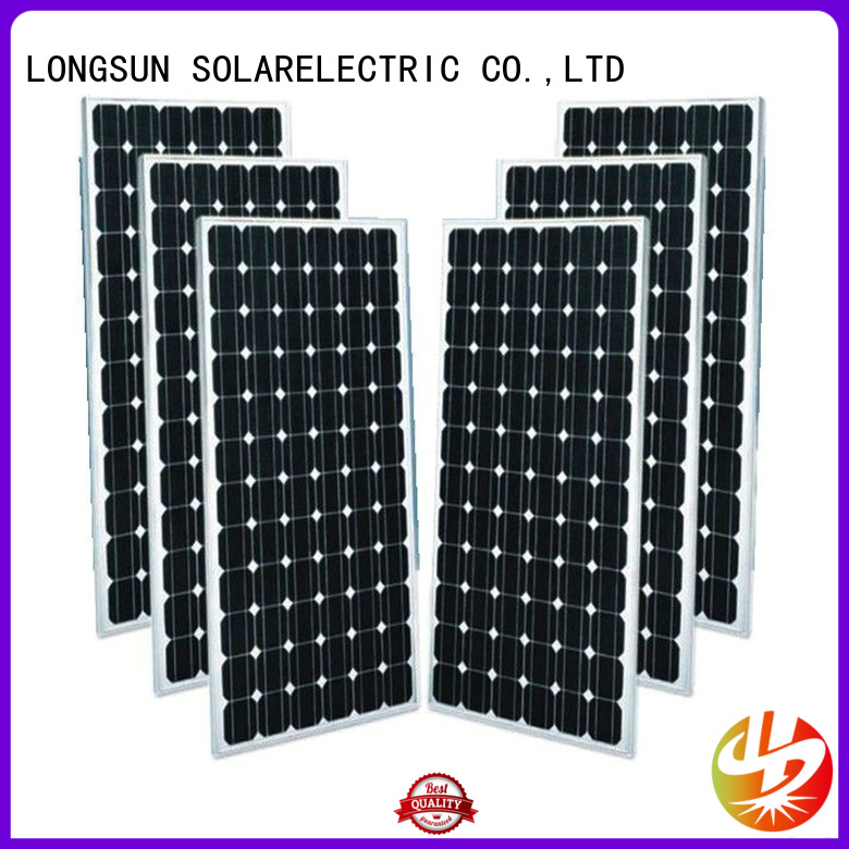 Longsun sturdy solar panel manufacturers dropshipping for ground facilities