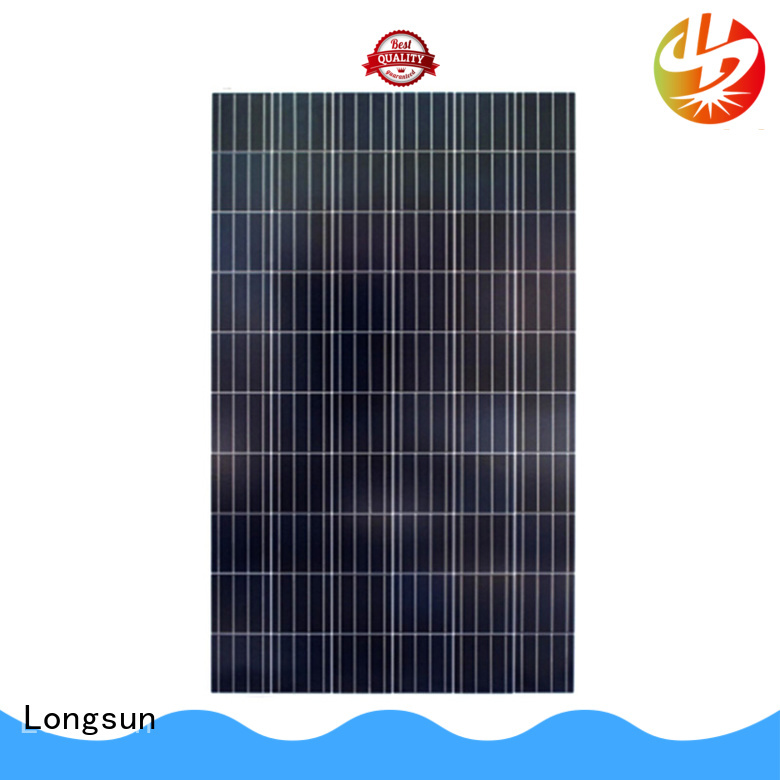 Longsun eco-friendly poly solar panel owner for communications