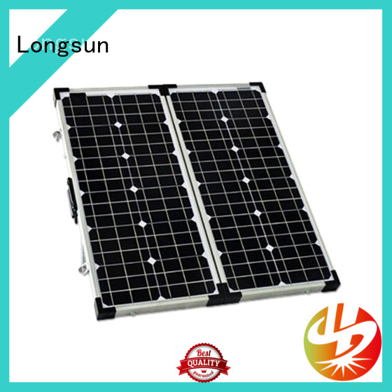 Longsun eco-friendly camping solar panels battery for boating