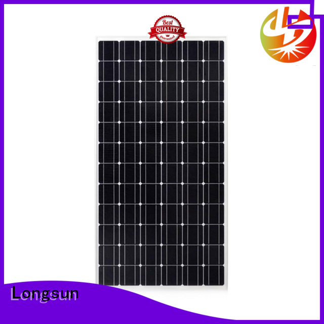 Longsun waterproof monocrystalline solar panel dropshipping for ground facilities
