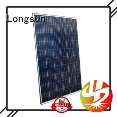 Longsun online high output solar panel for lamp power supply