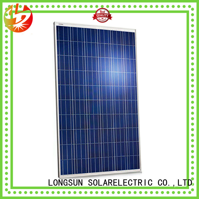 Longsun reliable sunpower solar panels factory price for photovoltaic power station